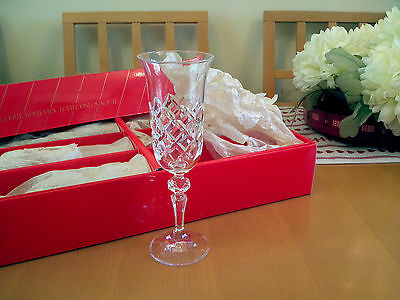 Bohemia Crystal Champagne glasses - set of 6