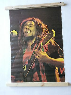 Bob Marley Poster Large Vintage 1976 Pace Int. No. 3094 Was Unopened