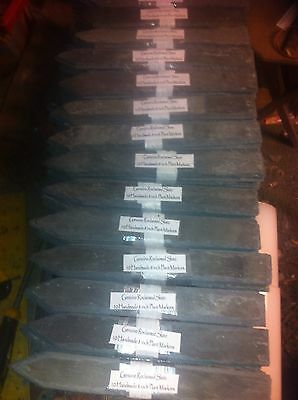 Slate Plant Labels/Markers 25x6 Inch Perfect Present For A Gardener