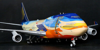 Singapore Airlines 747-400 Tropical 9V-SPL   BBOX 1:200