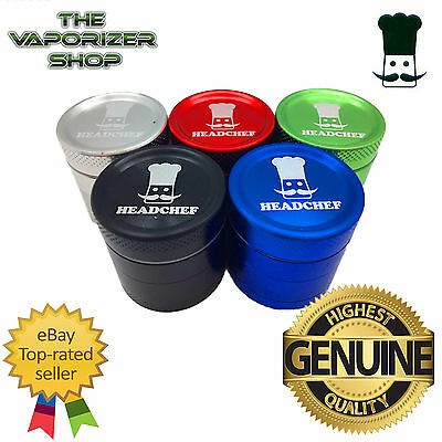 Head Chef Top Quality Alluminium Magnetic Herbal Grinder 30mm 4 Pcs All Colours