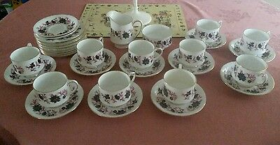 Afternoon tea. Paragon fine bone china.Michelle, Majesty The Queen