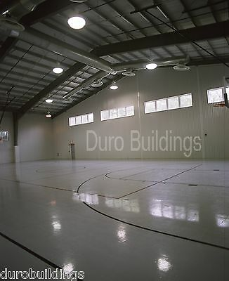 DuroBEAM Steel 100x100x18 Metal Rigid Frame Clear Span Building Factory DiRECT