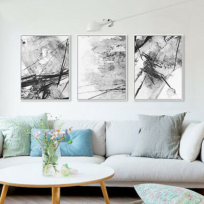 Modern Realist Abstract Art Minimalist Canvas Poster Print Wall Decor 358