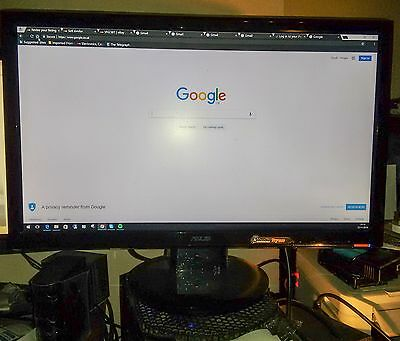 """ASUS VH238T 23""""  Widescreen LED LCD Monitor, built-in Speakers"""