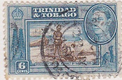 Trinidad and  Tobago  stamps, 5  George VI , 1938