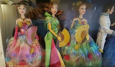 DISNEY Film Collection Set of Six Cinderella Doll Set genuine Collectors Item