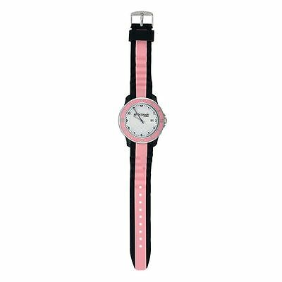 Montana Silversmith MT1501 Brown and Pink Sports Watch Silicone Band