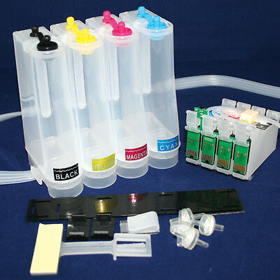 Non-oem EMPTY CISS Ink System for with EPSON WF-7610DWF WF-7620DTWF 27XL