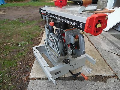 """Ridgid RS10000 10"""" Radial Arm Saw Professional Heavy duty Saw Local Pick Up Only"""