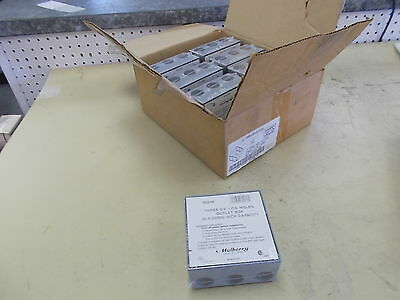 """Mulberry Outlet Box, 30.5 Cubic Inch Cap Three 3/4"""" I.P.S., 30236, BOX OF 8"""