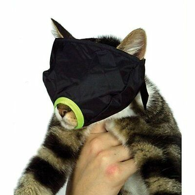 Feline Cat Nylon Muzzle High Quality Water Resistant Easy-Release Snap Small
