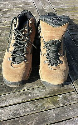 Pair of hitec leather lady eclipse lite hiking walking boots uk size 7