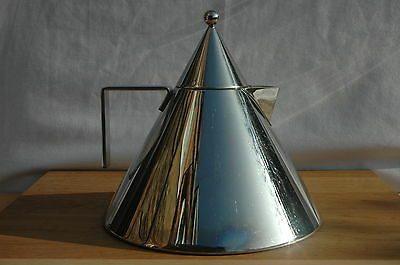 Alessi II Aldo Rossi Conico Stainless Steel Stove Top Kettle