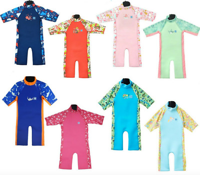 Splash About UV Combie Childrens Toddler Wetsuit Sun Protection and Warmth