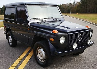 1983 Mercedes-Benz G-Class 230GE SWB 1983 Mercedes 230GE Geländewagen SWB G-Wagen Short Wheel Base WE SHIP AND EXPORT
