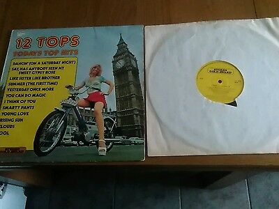 """Damont  records top of the pops 1973  LP  12""""  mer110"""