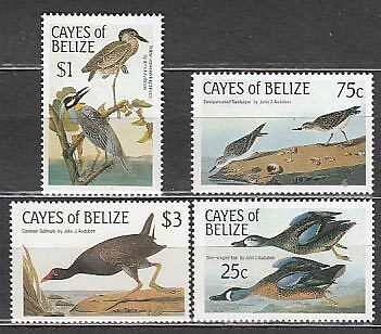 Belize-Cayes Correo Yvert 22/5 ** Mnh