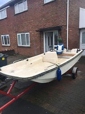 Dory 13 Ft Fishing/pleasure Boat. Trailer Included