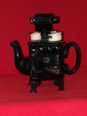 **SUPERB LARGE CARDEW OLD FASHIONED 50s STOVE TEAPOT** **IN GOOD CON**
