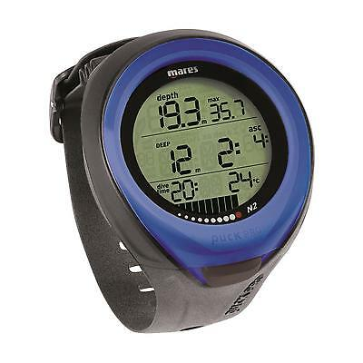Mares Puck Pro Dive Computer - Fast Shipping Blue