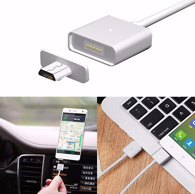 Cavo Cavetto Caricatore Magnetico Usb Microusb Huawei Samsung Lg Android Nokia