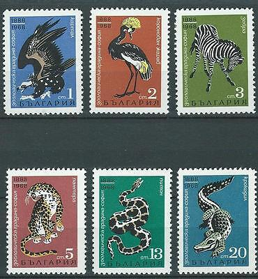 Nice set of stamps from Bulgaria.1968. SG 1813-8