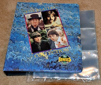 River Group Beatles Collection Trading Card Binder, and Sheets
