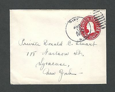 mjstampshobby 1917 US Cover - Field Post VF Cond (Lot1422)