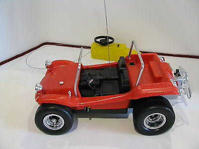 Cox R/C Dune Buggy Gas Powered .049 Vintage Red Meyers Manx VW Volkswagon Car