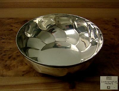 COUPE JATTE CHRISTOFLE TORSADE Antique French Swirl Twist SILVER PLATED Bowl