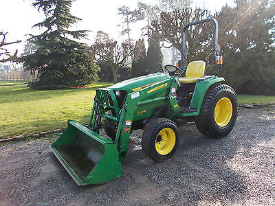 2011 John Deere 3036E Compact Tractor And Lewis Loader Road Registered Low Hours