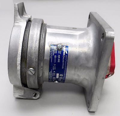Crouse-Hinds AR642 60A Arktite Receptacle - New