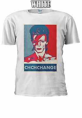 David Bowie Chchchange Song English T-shirt Vest Tank Top Men Women Unisex 2617