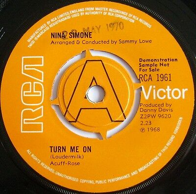 Nina Simone - Whatever I Am/why Must Your Love Well Be So Dry-Rca 1968 Ex Plus