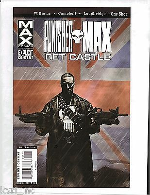 Punisher Max Get Castle One-Shot Marvel Comics B4