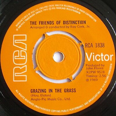 Friends Of Distinction-Grazing In The Grass/i Really Hope You Do-Rca1838 Ex Plus
