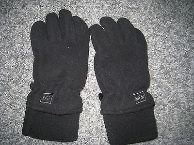 REI Kids boys size Small. Medium Weight Fleece Gloves. Winter, Fall. Gently used