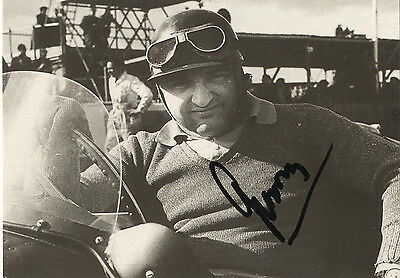 Jose Froilan Gonzalez - 'The Pampas Bull F1 Driver - In Person Signed Photograph