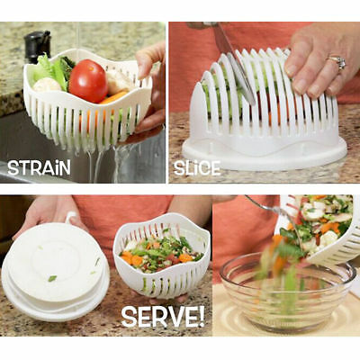 Hot Sale salad cutter bowl make your salad in 60 second great salad tool Slicers