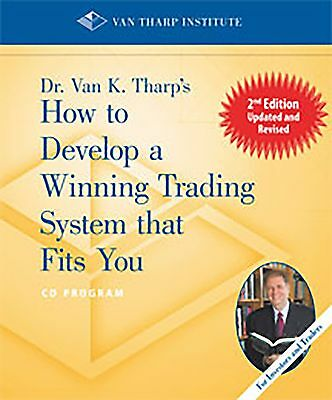 Van K Tharp How to Develop a Winning Trading System that Fits You options course