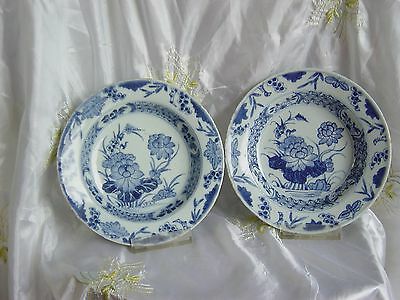 18c Two Chinese export porcelain Qianlong plates