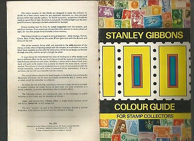 Stanley Gibbons Colour Guide For Stamp Collecting