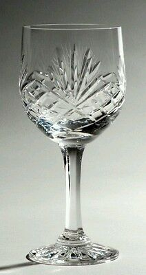 Set of 6 Crystal Red Wine Glasses  - Majestic - FREE POSTAGE