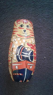 vintage Russian matryoshka stacking doll