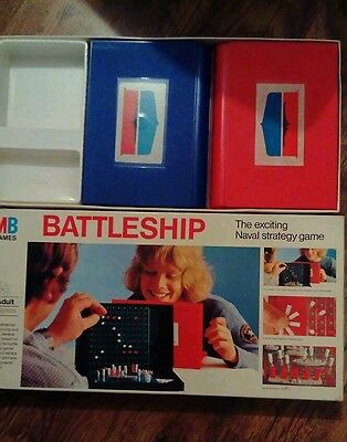 Mb battleships 1975 game. Vintage toys and games. Board games.