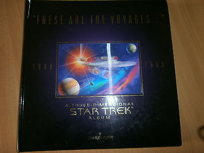 "Star Trek ""These are the Voyages..."" 3D Pop up book by Charles Kurts."