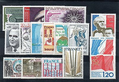 15 Timbres Neuf** Annee 1975 Cote : 12.35 E