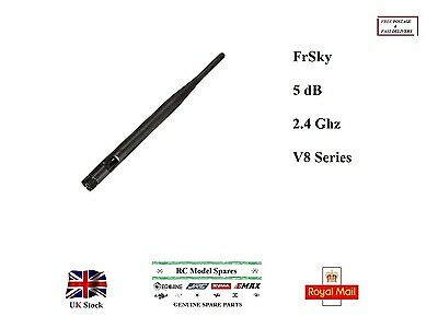 FrSky 5dB 2.4Ghz V8 Series Module Antenna RP-SMA RC Hobby Model Spare Parts UK