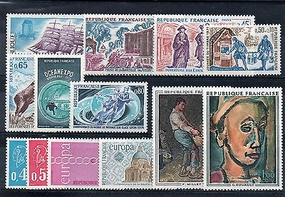 13 Timbres Neuf** Annee 1971 Cote : 9.65 E
